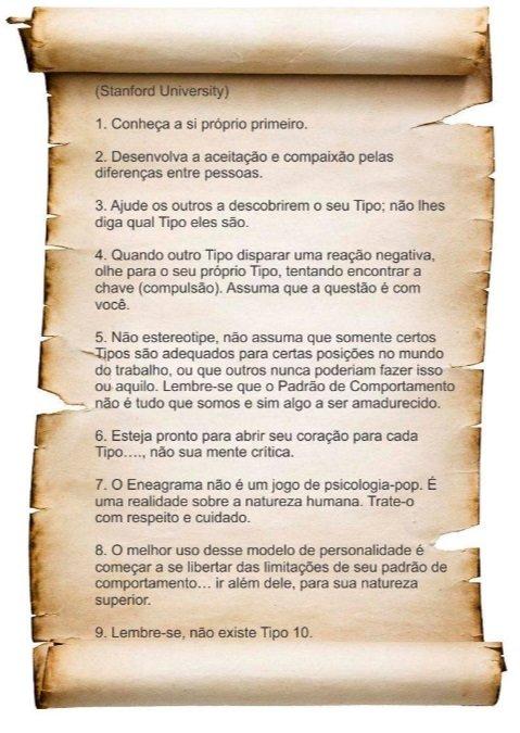 Eneagrama - Ética - Clarissa Correa